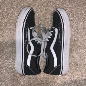 Old skool vans shoes w6